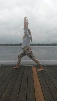#yoga in #floral pants