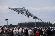 Avro Vulcan Bomber. Awesome flyby at Royal Air Tattoo 2015.