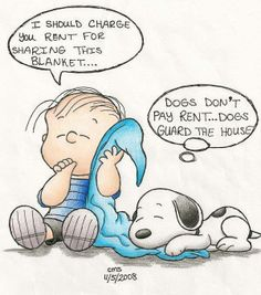 Snoopy is just too darn cute!