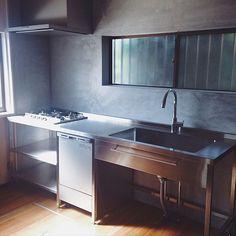 Dirty Kitchen Design, Restaurant Kitchen Design, Commercial Kitchen Design, Kitchen Cabinet Design, Kitchen Interior, Kitchen Furniture, Industrial Style Kitchen, Stainless Kitchen, Diy Kitchen Storage