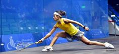 Think about using every inch of the racket and dropping your hand down the grip to extend your reach...