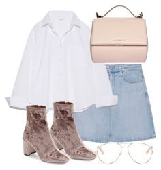 """Untitled #2859"" by theeuropeancloset on Polyvore featuring AG Adriano Goldschmied, Jeffrey Campbell, Chloé and Givenchy"