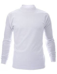 FLATSEVEN Mens Mock Turtle Neck T-Shirts (TTN01) White, M FLATSEVEN http://www.amazon.com/dp/B00E8C1H0I/ref=cm_sw_r_pi_dp_dcl0ub0E51JWW #mens t shirts #FLATSEVEN #men #fashion
