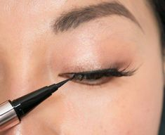 How to Apply False Eyelashes: Step-by-Step Guide With Photos | Allure #EyelinerWaterline