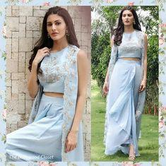 Haute spot for Indian Outfits. Pakistani Dresses, Indian Dresses, Indian Outfits, Indian Bridal Lehenga, Red Lehenga, Indian Designer Outfits, Designer Dresses, Designer Blouse Patterns, Lakme Fashion Week