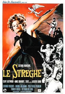 KINOGLAZORAMA: Five witches for one star: Silvana Mangano in Le Streghe (The Witches)