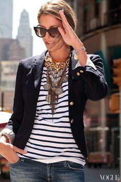 via Cush and Nooks: Black & White Stripes