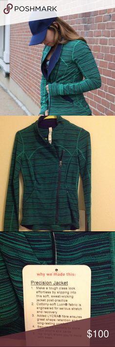 Lululemon Precision Jacket No trades, price firm. Super soft Luon fabric lululemon athletica Jackets & Coats
