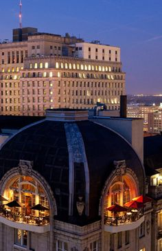Nineteen - amazing views! Highest elevation of any Philadelphia restaurant, located on the 19th floor of the Park Hyatt Philadelphia at the Bellevue Hotel.