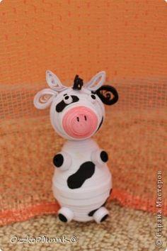 quilled cow - bjl