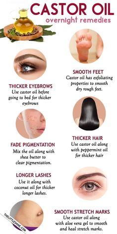 Best Beauty Tips, Health And Beauty Tips, Beauty Care, Beauty Skin, Home Beauty Tips, Beauty Tips For Face, Beauty Secrets, Castor Oil For Face, Castor Oil For Eyebrows
