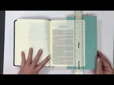 Learn how to make your own books of the Bible tabs! You can also make these tabs…