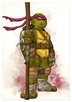 Classic Donatello by T-RexJones on deviantART