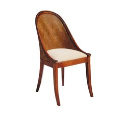 Chair with double cane back
