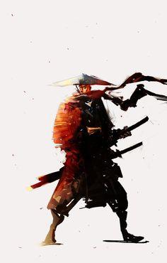 Samurai Doodle by cobaltplasma