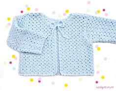 Crochet Baby Sweaters, Crochet Baby Cardigan, Hand Knitted Sweaters, Cardigan Pattern, Crochet Clothes, Kids Knitting Patterns, Baby Knitting, Crochet Girls, Crochet For Kids