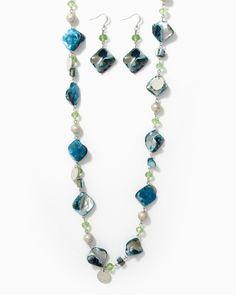 charming charlie | Sacred Stones Necklace Set | UPC: 410006637801 #charmingcharlie
