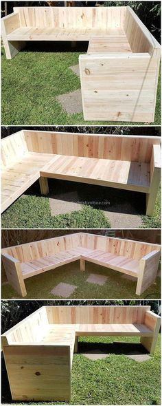 unique DIY projects with wooden pallets pallets ., 50 unique DIY projects with wooden pallets pallets ., 50 unique DIY projects with wooden pallets pallets . Pallet Seating, Backyard Seating, Outdoor Seating, Backyard Landscaping, Pallet Sofa, Pallet Lounge, Large Backyard, Garden Seating Areas, Corner Garden Seating