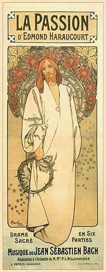 The passion by Alphonse Mucha