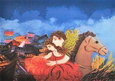 .:. Σταθόπουλος Γεώργιος – Georgios Stathopoulos Painter Artist, Greek Art, Painting, Painting Art, Paintings, Painted Canvas, Drawings