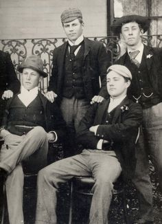 Students from King's College, Goulburn NSW 1894