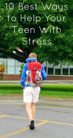 12 expert ways to help your teen plan their high school years while reducing stress and enjoying their experience. #teen #college