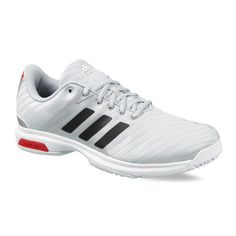 competitive price afb2d ad75c Buy Adidas Barricade Court OC Tennis Shoes (Grey White) Online. Order Adidas