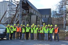#TBT to @ILStudyAbroad Earthquake Engineering 2013 #studyabroad program on a visit to the ChristChurch Cathedral (photo by Dan Abrams)
