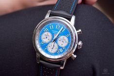 Chopard Mille Miglia Racing Colours, blue Chopard, Racing, Colours, Luxury, Blue, Accessories, Jewelry, Jewlery, Jewels