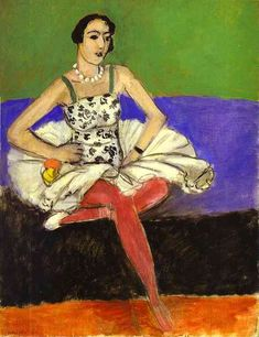 """The Ballet Dancer"", 1927 by Henri Matisse (1869-1954, France)"