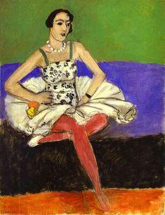 Acheter Tableau 'le ballet danseur' de Henri Matisse - Achat d'une reproduction sur toile peinte à la main , Reproduction peinture, copie de tableau, reproduction d'oeuvres d'art sur toile