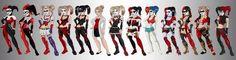 Who best Harley Quinn evolution
