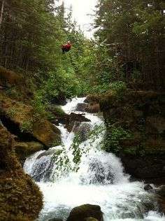 Ever wondered what it's like to fly above glacially-fed waterfalls? Zipline expedition!