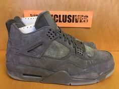 075834ae581444 Nike Air Jordan IV Retro 4 x Kaws Cool Grey 930155-003 SZ 8-14 SHIPPING NOW  lot  MichaelJordan  AirJordan  Jordans