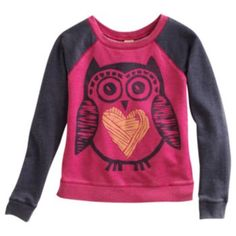 Mudd Owl Sweatshirt - Girls Plus