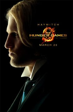 """Woody Harrelson as Haymitch Abernathy. """"The Hunger Games"""" Opens March 23, 2012."""