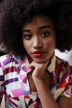 Amandla Stenberg talks Sundance, her career, and more.