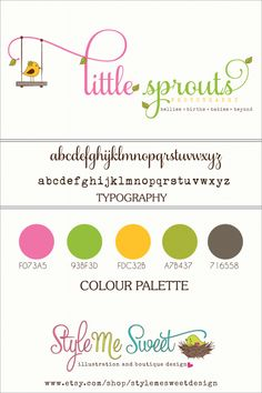OOAK Logo Design for Little Sprouts Photography