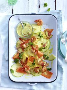 Unser beliebtes Rezept für Fruchtiger Salat aus Ananas, Apfel und Möhren mit Garnelen und mehr als 55.000 weitere kostenlose Rezepte auf LECKER.de.