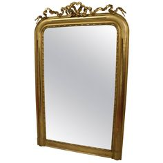 Beautiful Louis Philippe Mirror | From a unique collection of antique and modern floor mirrors and full-length mirrors at https://www.1stdibs.com/furniture/mirrors/floor-mirrors-full-length-mirrors/