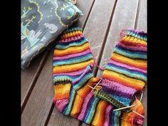 Knitting Socks on Mini Circular Needles