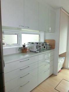 キッチン 背面収納 - Google 検索