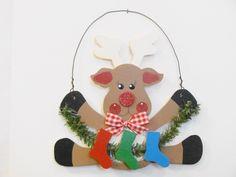 Reindeer Family Ornament