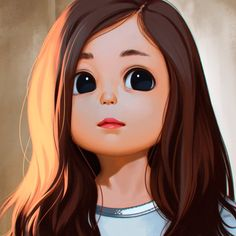 Portrait based on a pic of Lauren Lunde