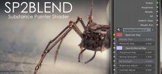 [Blender Market] SP2Blend: Substance Painter Shader now on BlenderMarket