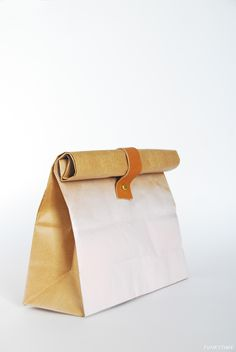 Spray Painted Paper Bags | Funkytime