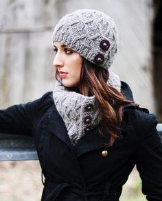 Free Pattern - Caledon Chunky Ingrid Hat & Cowl