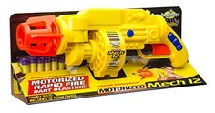 Buzz Bee Toys Air Warriors Motorized Mech 12 Blaster * Visit the image link more details. (Note:Amazon affiliate link) #ToysGames5To7Years