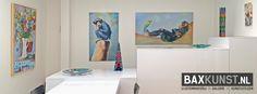 De expositie met kunstwerken van Hermione Velthuis en Hinke Veenstra duurt nog t/m 30 september. Kom zsm langs!