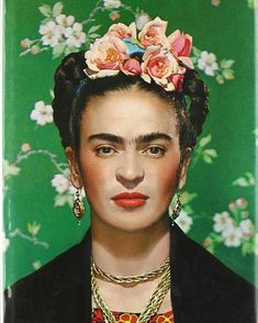 July Painter Frida Kahlo was a Mexican self-portrait artist who was married to Diego Rivera and is still admired as a feminist icon. Artist Frida Kahlo was born on July in Coyocoán, Mexico City, Mexico. Diego Rivera, Städel Museum, Museum Shop, Nickolas Muray, Frida Kahlo Portraits, Frida Kahlo Artwork, Frida Kahlo Makeup, Frida Kahlo Tattoos, Frida Art